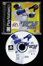 TRIPLE PLAY 2000 Ps1 Versione NTSC Americana »»»»» COMPLETO