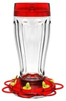 Big Gulp Glass Hummingbird Feeder by Classic Brands Llc