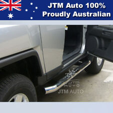 """Side Steps Running Boards 3"""" Stainless Steel to suit Toyota FJ Cruiser 2007-2016"""