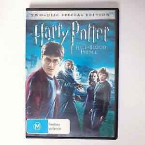 Harry Potter And The Half Blood Prince Movie DVD Region 4 AUS Free Postage