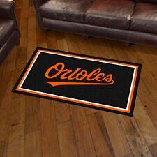 Baltimore Orioles 3' X 5' Decorative Ultra Plush Carpet Area Rug
