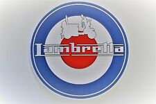 LAMBRETTA RAF TARGET BACK PATCH MODS SCOOTERS  SEW - IRON ON PATCH NEW