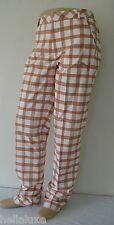TOUR ED~Puma Golf PLAID TECH STYLE PANT UV PROTECTION RICKIE FOWLER Trouser~Sz34