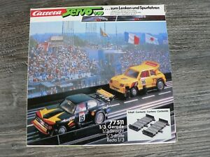 Carrera Servo 140plus 2 1/3 Straight 77511 New