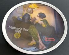 Norman Rockwell Mothers Day After the Party collectors plate Knowles Vtg 1981