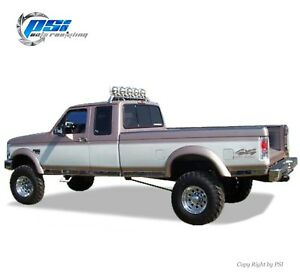 Black Paintable Extension Fender Flares 92-96 Ford F-150 F-250 F-350 Bronco