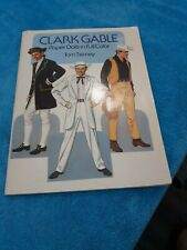 Vintage Clark Gable Paper Dolls In Full Color Pre Owned Tom Tierney 1986
