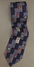 EUC MENS VINTAGE SILK NECK TIE CHAPS RALPH LAUREN GOLF Free Shipping