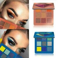 9 Colors Eyeshadow Palette Beauty Cosmetic Make Up Matte Shimmer Shadow Q2F Z9I8