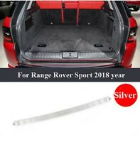 Stainless Steel Rear Bumper Protector Sill/Trim For Range Rover Sport 2018/2019
