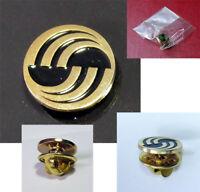 Pin AIRBUS Round Logo Pin for Pilots Crew Maintenance metal GOLD pin tie tack