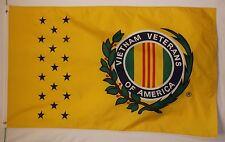 Vietnam Vetarns Of America Flag 3' x 5' Indoor Outdoor Tribute Banner