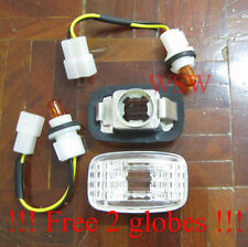 TOYOTA LANDCRUISER 80 SERIES PAIR CLEAR (PERFORMANCE) SIDE INDICATOR LAMPS LIGHT