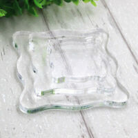 Sculpture Pressure Stamps Block Acrylic Pad Transparent  Pottery Workbench