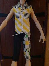 MONSTER HIGH JACKSON JEKYLL OUTFIT - EXCELLENT - $2 SHIPPING