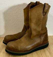 John Deere Steel Toed Boots Men's 10.5 Leather Slip Resistant Jd4332