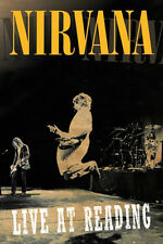 "Nirvana Live at Reading Poster 24"" x 36"" Kurt Cobain Dave Grohl"