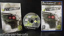 NEED FOR SPEED PROSTREET - Game PS2 Complete with record - Playstation 2