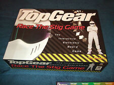 TOP GEAR- RACE THE STIG -INTERACTIVE ELECTRONIC BOARD GAME BY TOY BROKERS 1998