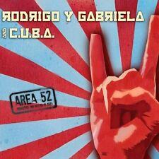 RODRIGO Y GABRIELA AND CUBA - AREA 52 - CD+DVD -   CD NUOVO