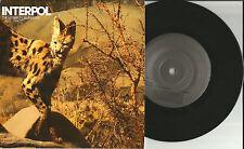 INTERPOL Heinrich Maneuver w/ Mammoth INSTRUMENTAL LIMITED PROMO DJ 7 INCH Vinyl