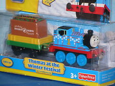 FISHER PRICE THOMAS AT THE WINTER FESTIVAL DIECAST METAL ***BRAND NEW & RARE***