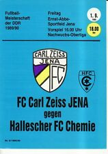 OL 89/90 FC Carl Zeiss Jena-HFC chimica (RS-A)