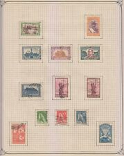ARGENTINA 1916-50 COLLECTION ON 39 ALBUM PAGES SETS, VARIETIES, PERFS, PAPERS+
