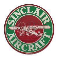 Vintage Design Sign Metal Decor Gas and Oil Sign - Sinclair Aviation Gasoline