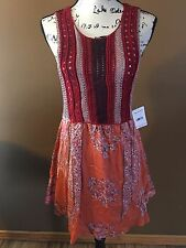 Free People Crochet Dress NWT $168  Ladies Outfit Size Medium
