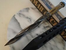M48 Cyclone Desert Battle Scarred Combat Tri Dagger Knife Spike Uc3340 2Cr13 New