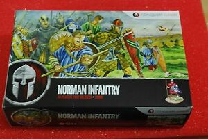 CONQUEST NORMAN INFANTRY PLASTIC SPRUES - 28MM - DARK AGES/MEDIEVAL