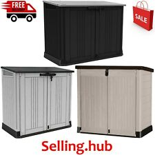New Keter Store it Out Nova-Waterproof Garden Bin Storage Container free deliver