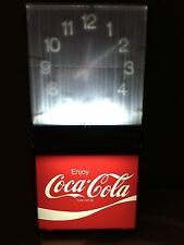 NEW / NEVER USED Vintage 1979 Coca-Cola Coke Clock by Ridan Displays Inc E29332