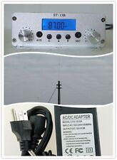 15W Stereo FM radio transmitter church radio audio transmission+power cord+ANT