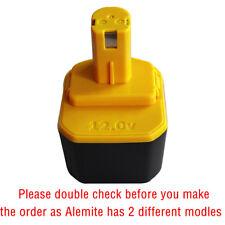 Battery for Alemite 339804 12 Volt 2.0AH  2000mah NI-CD battery