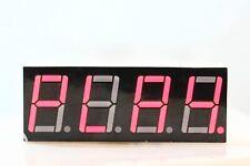 2pcs LED Display 7 Segment 4 Digit 0.56 inch Hi Red Common Cathode (2 pack)