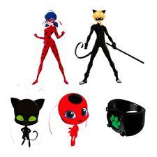Ladybug Miraculous Set 5  Figuren Topper Torte Figur Geburtstag neu mini