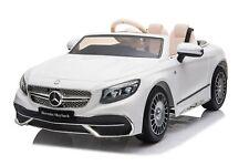 Kidcars Kinder Elektro Auto Mercedes S650 Maybach 2x35W 12V Soft Reifen
