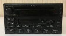 Ford F150 F250 F350 Series Truck Ranger Radio CD Tape Player (YU3F- 18C868- AA)