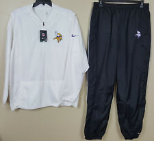pants Nfl Team Issue New size Xl Nike Minnesota Vikings Storm-fit Suit Jacket