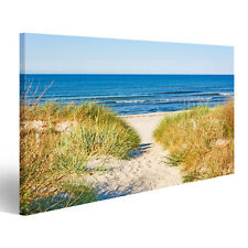 deko bilder aus leinwand mit ostsee g nstig kaufen ebay. Black Bedroom Furniture Sets. Home Design Ideas
