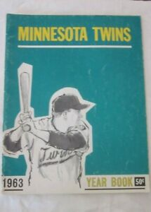Minnesota Twins 1963 Yearbook