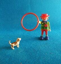 Playmobil Payaso con perro Clown Ring Hund Dog Circus Zirkus Circo