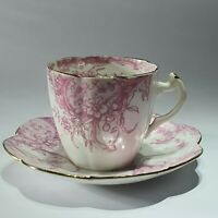 Antique Wileman & Co Cup And Saucer. Shelley.