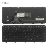 HP ProBook 430 G2 440 G2 445 G2 440 G0 440 G1 445 G1 US Keyboard Backlit Frame