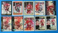 LOT OF 10 PAUL RANHEIM SIGNED HOCKEY CARDS ~ PINNACLE ~ 100% GUARANTEE
