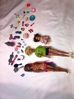 Barbie Doll Lot Dolls And Accessories