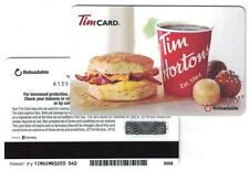 Tim Hortons USA 2016 Breakfast Sandwich Gift Card FD55337