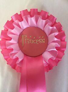 1 X Princess Rosettes